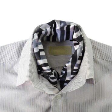 سكارف تحت القميص شبه حرير عالي الجودة – Me097