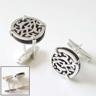 Silver Cufflinks – Me206