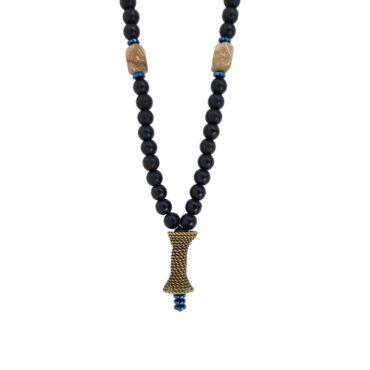 Me626 – Straw Basket Necklace