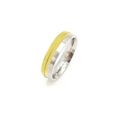 Me985 – Gold / silver Ring