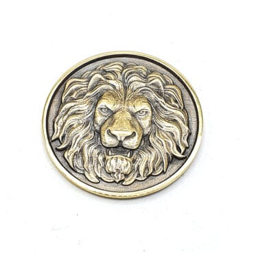 Me1100 – Lion Coin Bronze