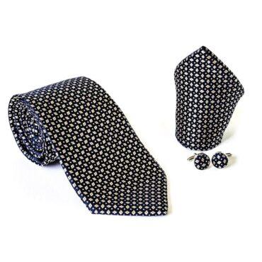 Classical Man Set Tie (Tie+ Hanky+ Cufflinks)  – Me074