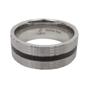 Me676 – The Black line Ring