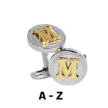 Initials Cufflinks – Me266
