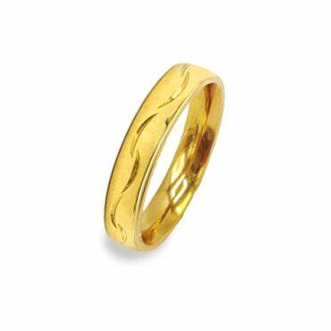 Me826 –  Gold Wedding Ring