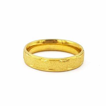 Me825 –  Gold Wedding Ring
