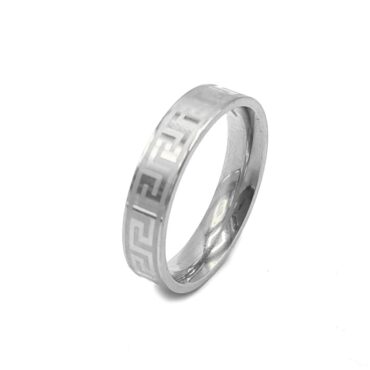 Me813 – Silver Wedding Ring