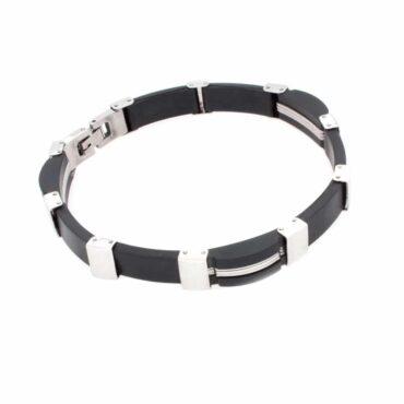 Me974 – Black stainless steel Bracelet