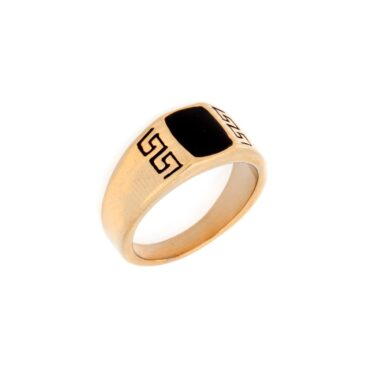 Me817 – Gold Rectangle ring