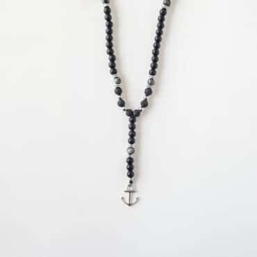 Anchor Onyx Necklace – Me209