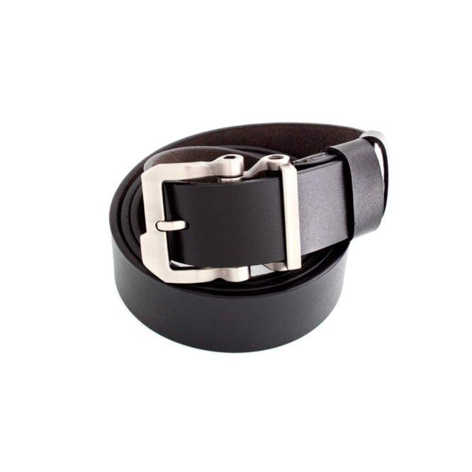 Me830 -Black /Brown Genuine Leather Belt