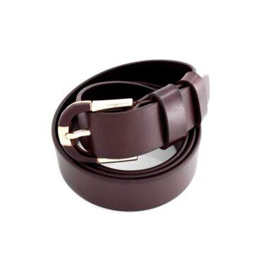 Me829 – Black / Brown Genuine Leather Formal Belt