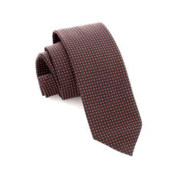 Me895 – Brown Slim Tie