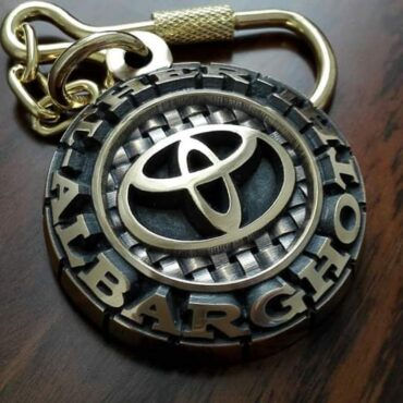 Me1104 – Customized logo chain Pendants & Keychains