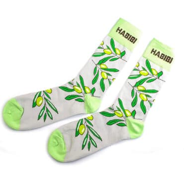 Me1214 – Zaytoun (Olives) Socks