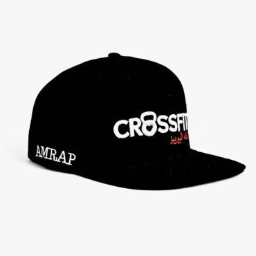 """Me1351 – Cap """"Crossfit"""" Black"""