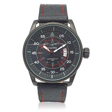 Me1340  –  ساعة اكس بريلينج أسود مع خيط أحمر