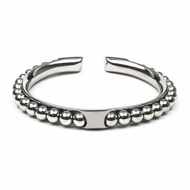 Me1442 – Stainless steel balls bracelet
