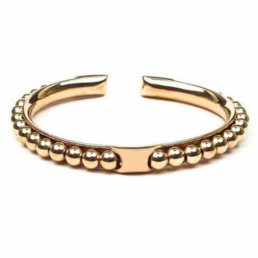 Me1443 – Rose gold Stainless steel balls bracelet