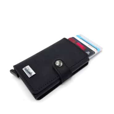 """Me1485 – Anti-theft """"RFID"""" Mecal Wallet and Card Holder-genuine leather with lock"""