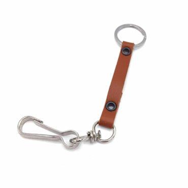 Me1509 – Genuine Camel Leather keychain